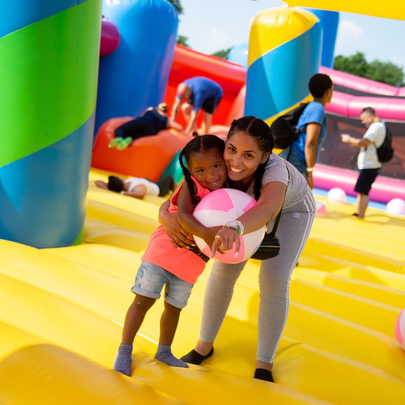 The Big Bounce America The World S Biggest Bounce House